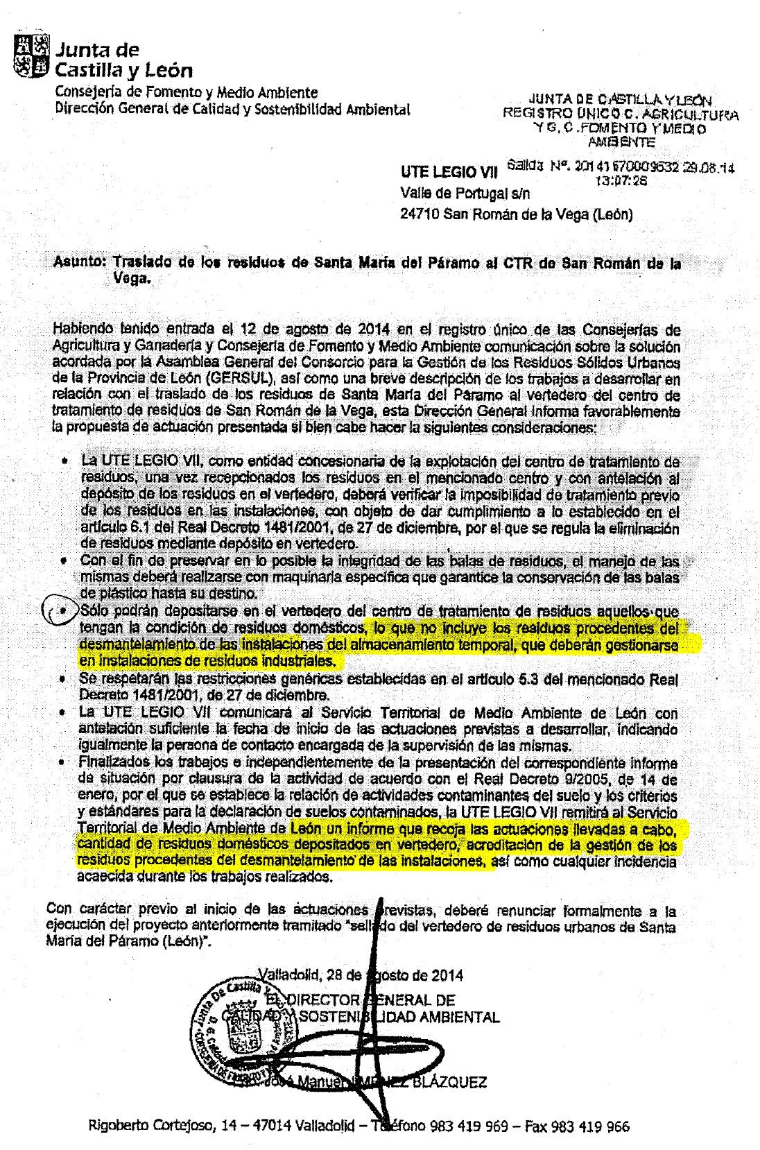 Traslado_Residuos_StaMariaParamo_Consejería