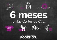 6 meses en las Cortes de CyL