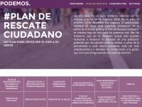 PLAN DE RESCATE CIUDADANO: UN PLAN PARA DEVOLVER EL PAÍS A SU GENTE