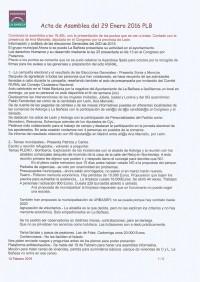 Acta Asamblea Enero 2016