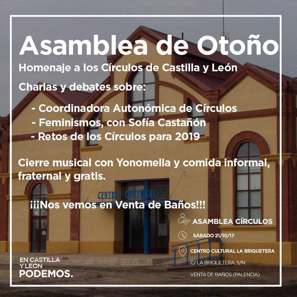 Asamblea-Otoño-2017-Venta-Baños-Cartel