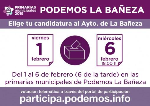Municipales-2019-La-Bañeza-Plazo