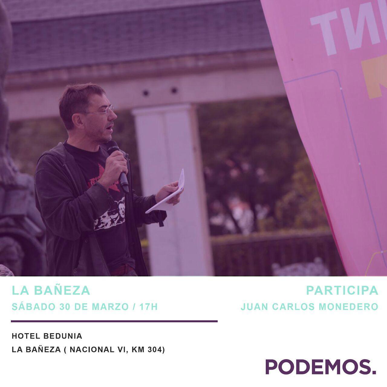 Monedero-PodemosLaBaneza