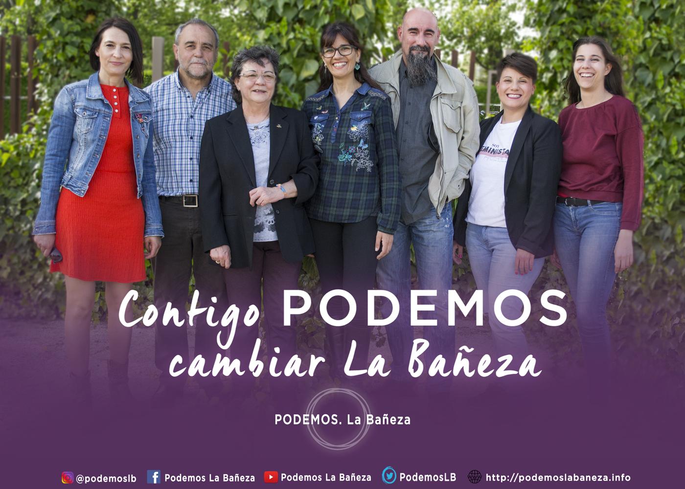 Cartel campaña 2109 Grupal en La Baneza 1400