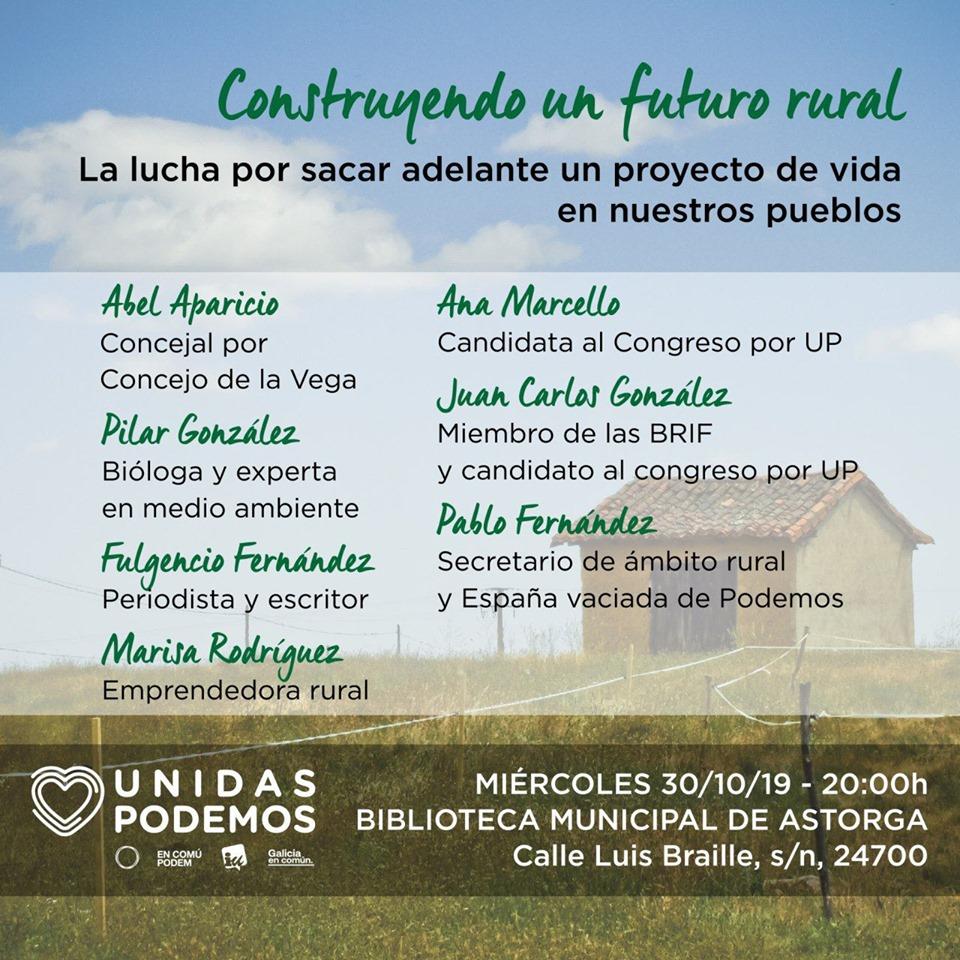 ¡Construyendo un futuro rural!